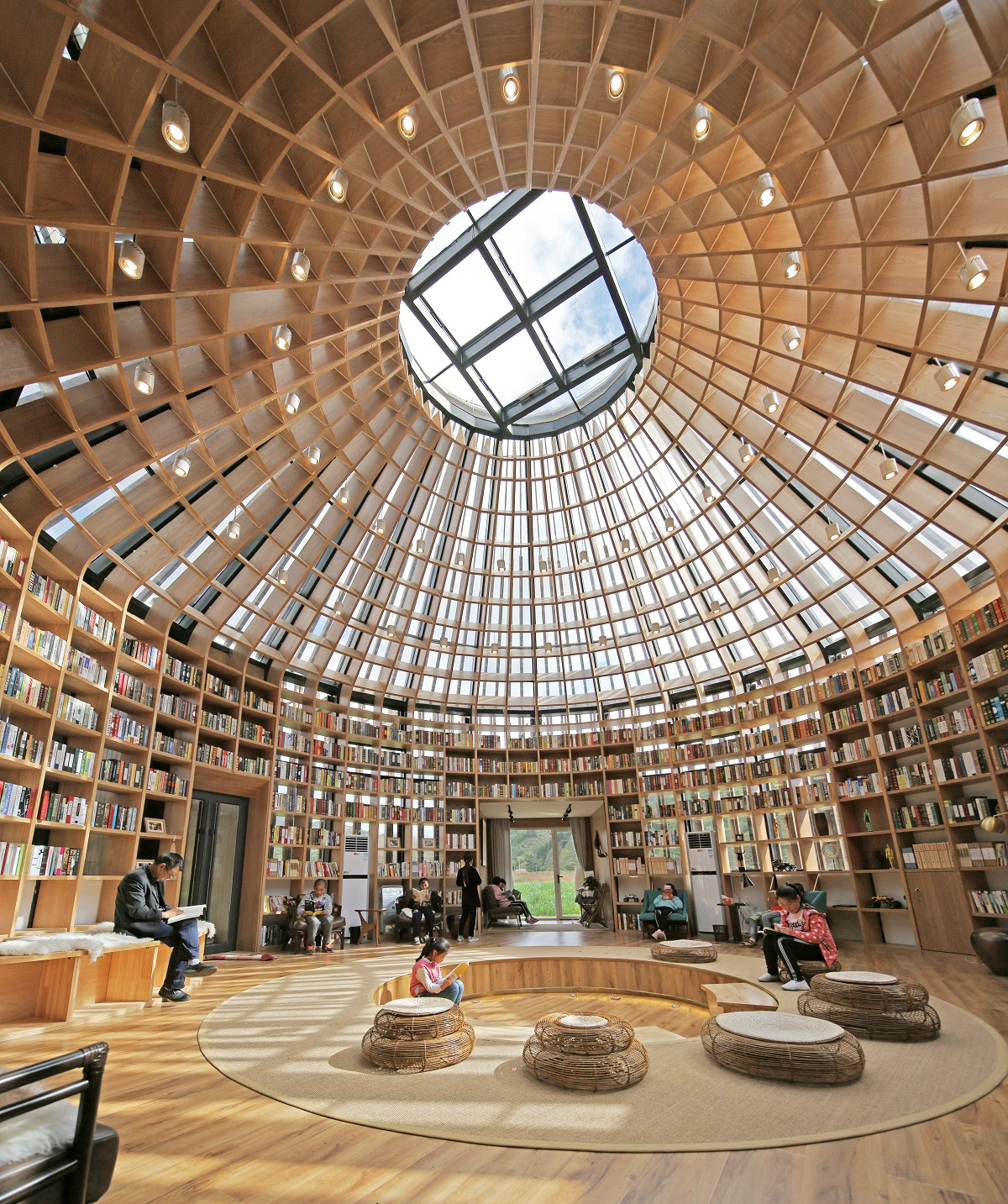 Hdd Designed A Mongolian Yurt Shaped Architecture In A Grassland In China